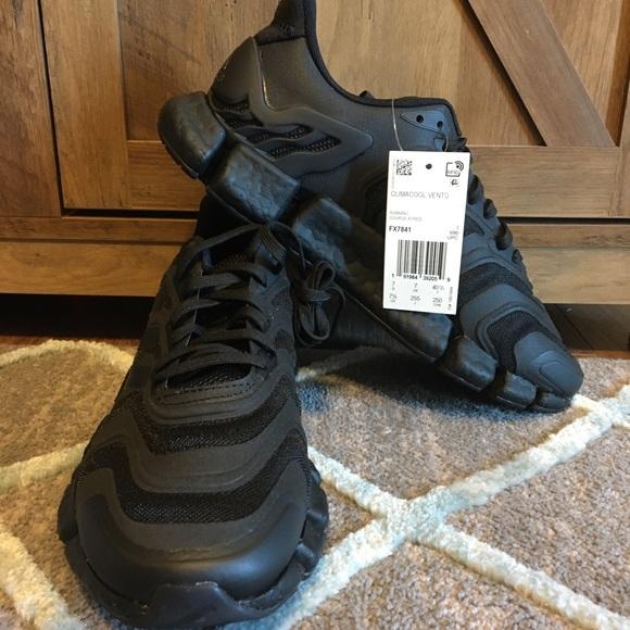 Adidas Climacool Vento Sz 7.5 Men Triple All Black